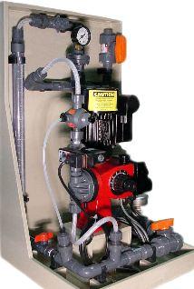 Lutz-Jesco Motor Driven Metering Pump Skid System